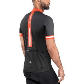 Löffler Racing Bike Jersey Full-Zip Men, black/red